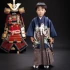 五歳・羽織袴1