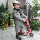 五歳・タキシード1