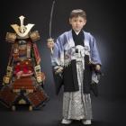 五歳・羽織袴2